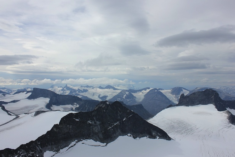 Mountain climbers describe Jotunheimen Nasjonalpark as one of the best places in Norway