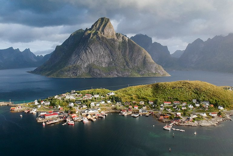 Norway's stunning Lofoten Islands are great for island-hopping