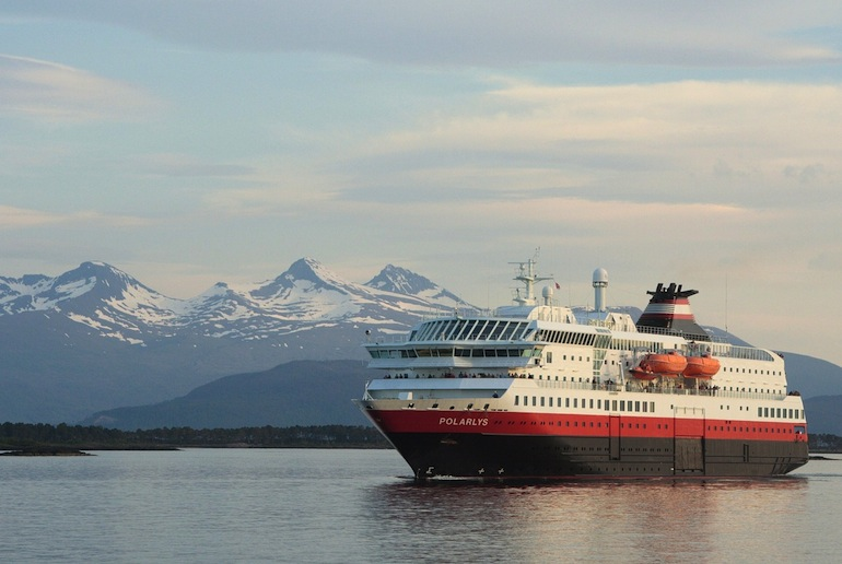 A trip on the Hurtigruten gives the best coastal views in Norway