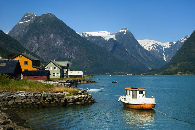 Mundal is known as Norway's prettiest village