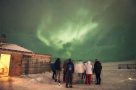 Northern Lights Evening with Dinner in Longyearbyen