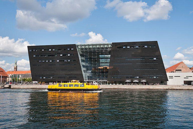 The Black Diamond in Copenhagen is free to enter