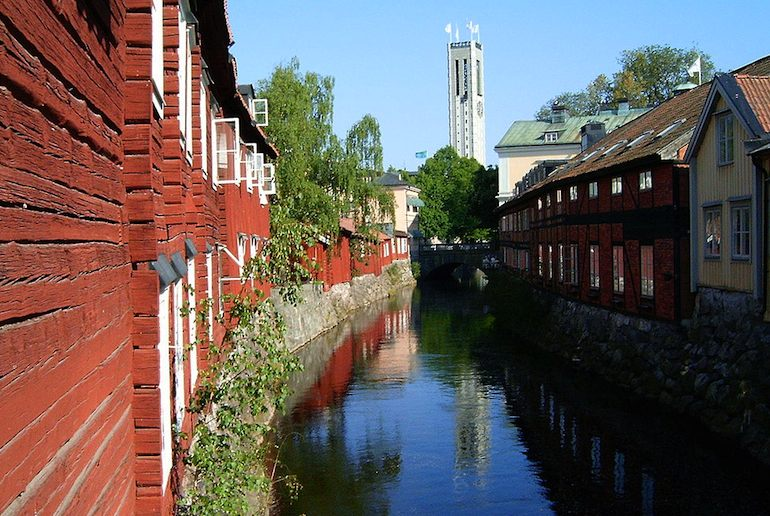 Västerås' old town is well-preserved and pretty, making it one of Sweden's 8 best cities to visit.