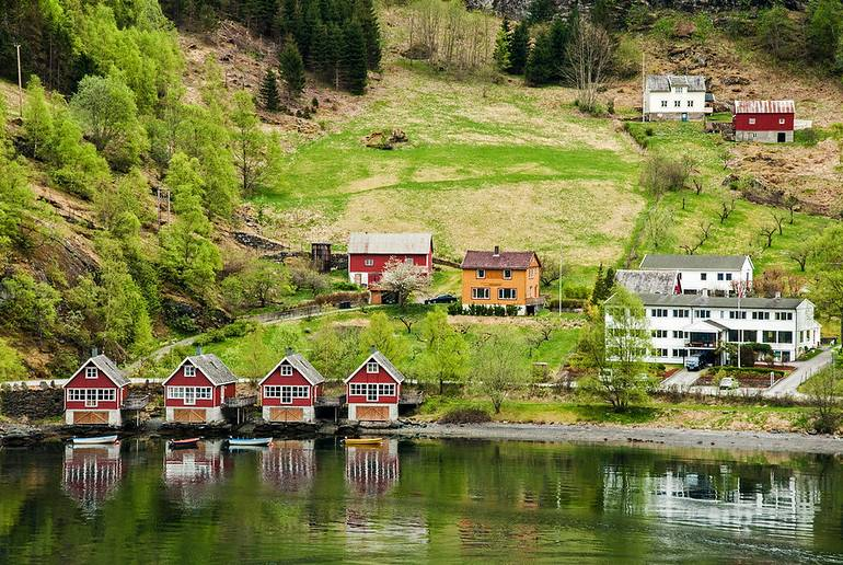 Boat journeys to Flåm are included in the Fjordcard ferry pass.