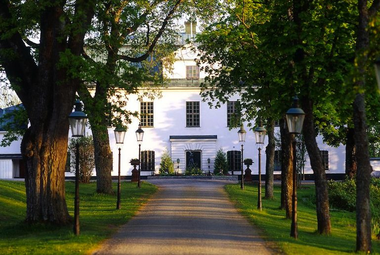 Why not sleep in a palace, one of Sweden's amazing places to stay