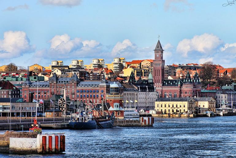 With cobbled streets, a medieval castle and an attractive harbour, Helsingborg is one of Sweden's best cities.