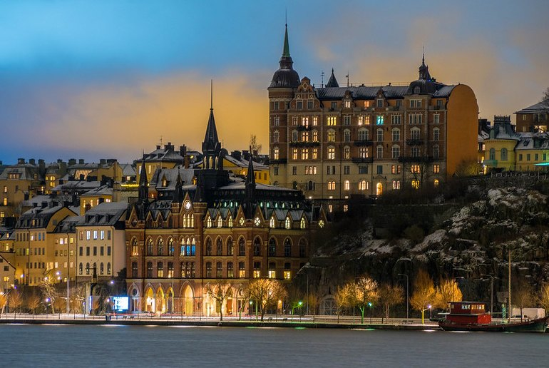 Sweden's capital, Stockholm is one of Europe's most beautiful cities.
