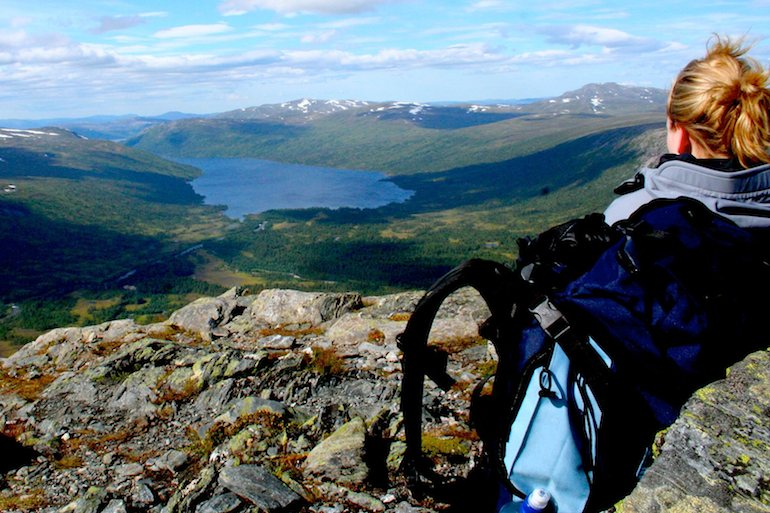The Trollheimen Triangle Route in Norway