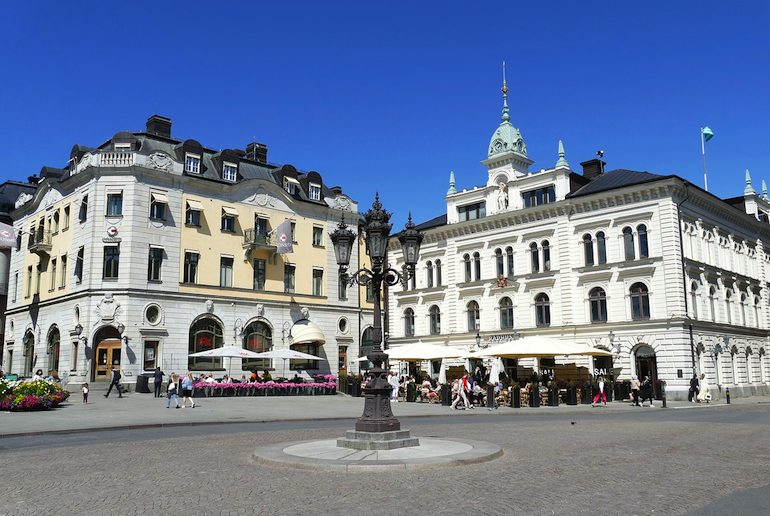 Lively, laid-back Uppsala is one of Sweden best cities to visit