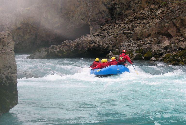 Go white-river rafting from Reykjavík