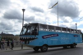 Take a ride on this Stockholm bus tour
