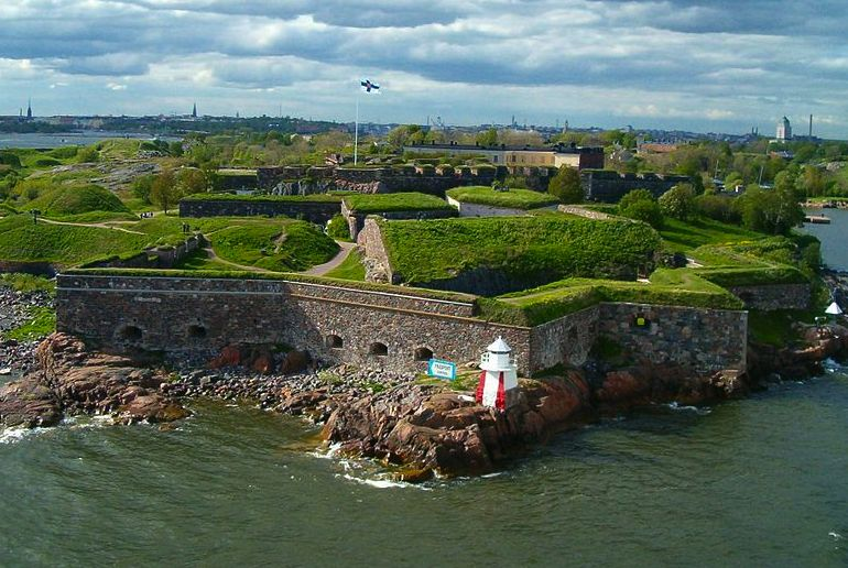 The Suomenlinna Fortress - one of the attractions included on the Helsinki Card