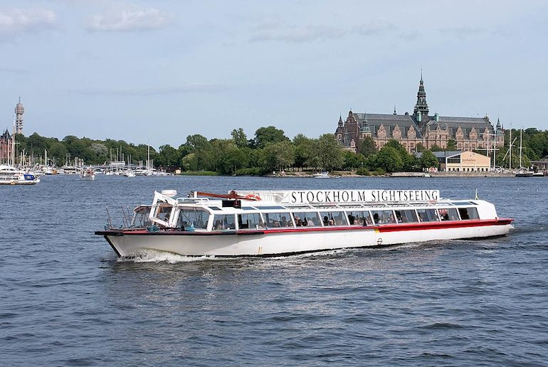 This Stockholm tour includes boat and bus rides