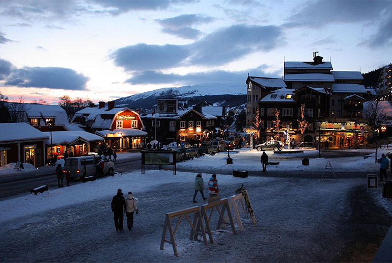 Åre is a great ski resort in Sweden
