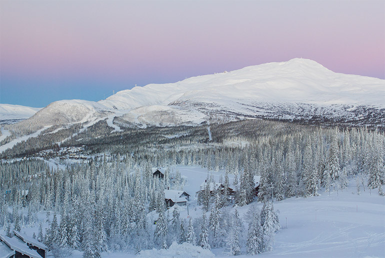 The 9 best ski areas in Sweden