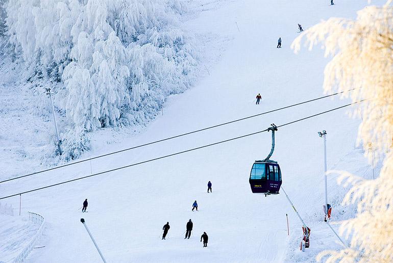 Branäs is one of the prettiest Swedish ski resorts