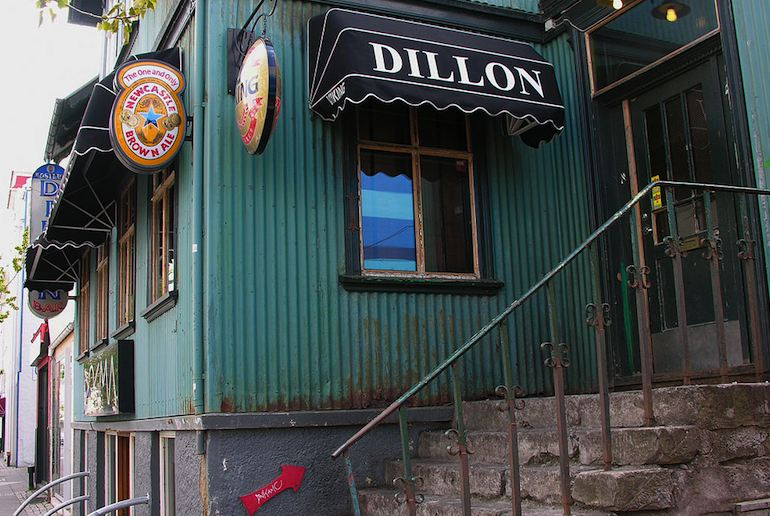 Dillon's Whisky Bar in Reykjavík puts on free live music – it's one of the 40 best free and cheap things to do in the city.