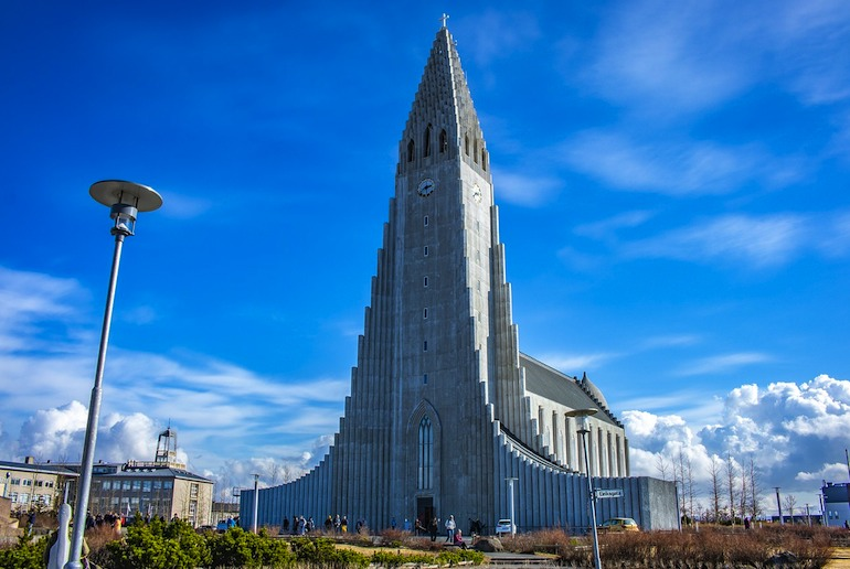Reykjavík's Hallgrímskikja is free to visit – it's one of the 40 best free and cheap things to do in the city.