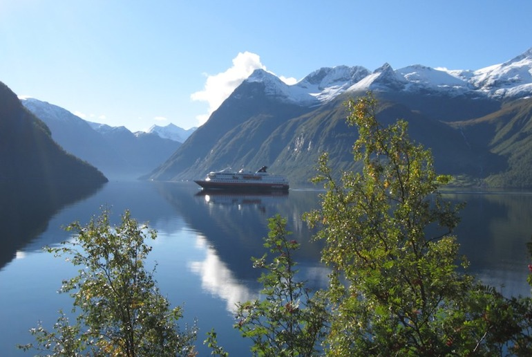 The quieter Hjørundfjord is one of Norway's top 12 fjords to visit.