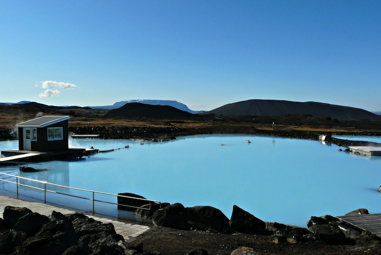 Myvatn Nature baths, a great alternative to Iceland's Blue Lagoon