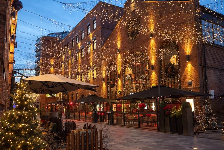 Visit Oslo in December and see its twinkling lights and Christmas decorations