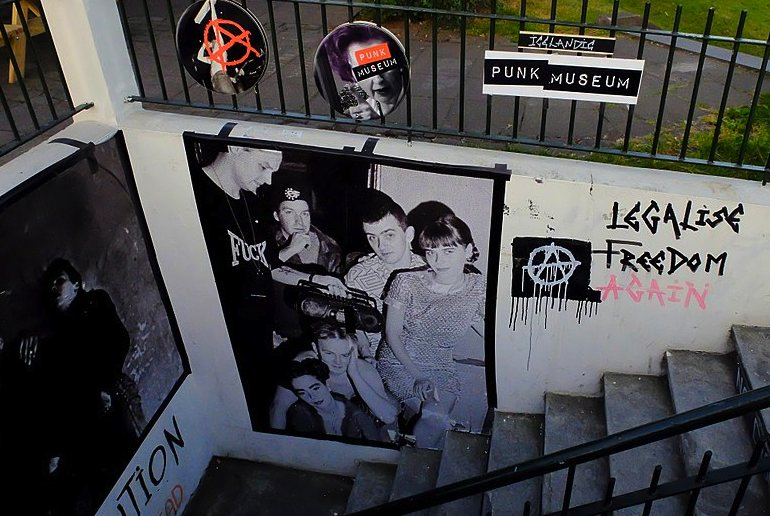 The Icelandic Punk Musuem is one of the 40 best cheap things to do in Reykjavík