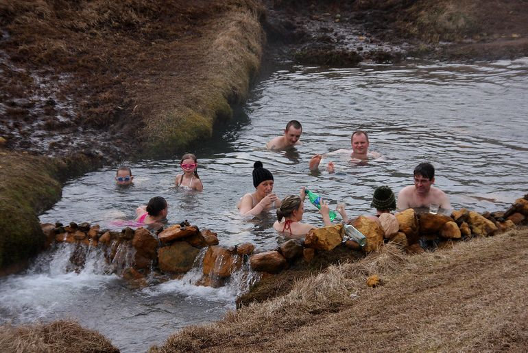 Fancy in a swim in a warm river at Reykjadalur?