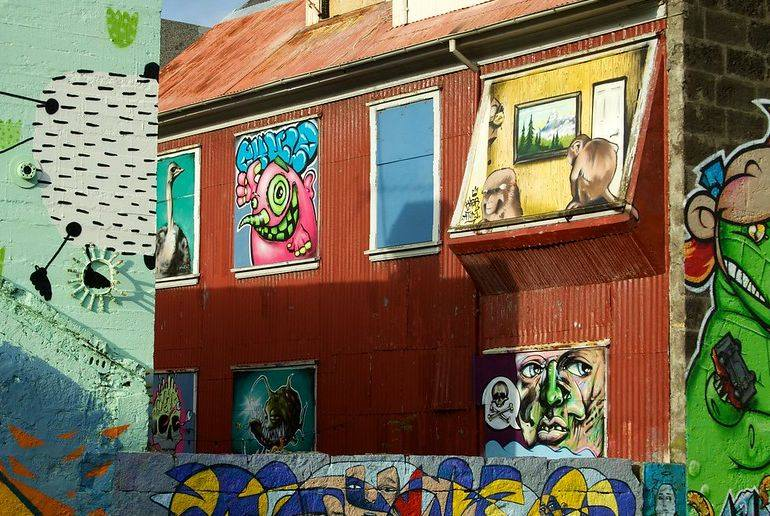 Do a free street art tour – it's one of the 40 best free and cheap things to do in Reykjavík.