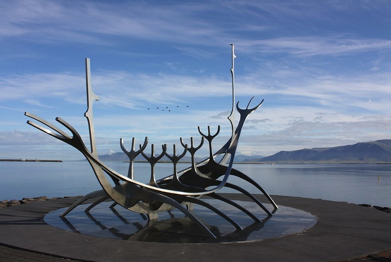 Reykjavík's Sun Voyager sculpture is free to visit – it's one of the 40 best free and cheap things to do in the city.