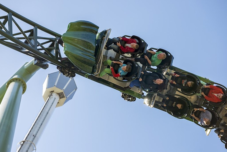 Liseberg in Gothenburg is one of Scandinavia's best theme parks