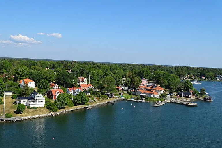 Stockholmers head out of the city to the islands in the archipelago in summer