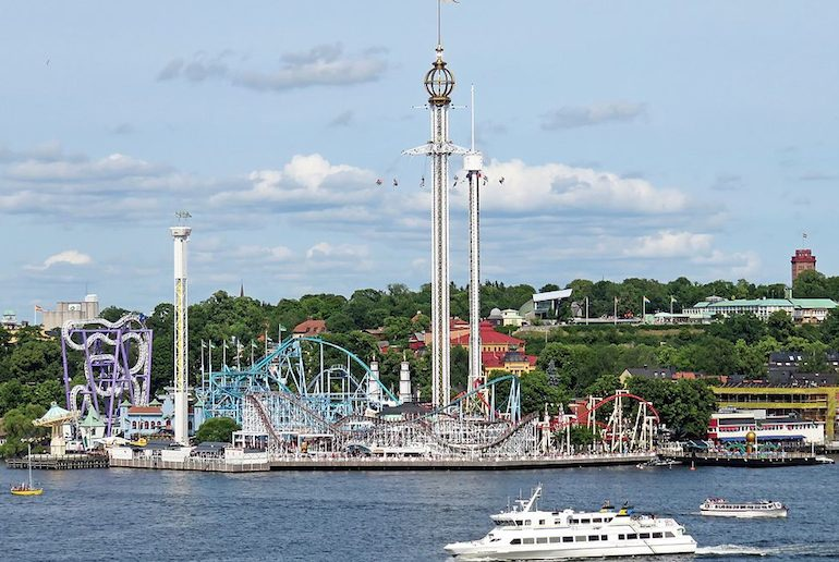 Stockholm's Grona Lund Tivoli is one of Scandinavia's best theme parks