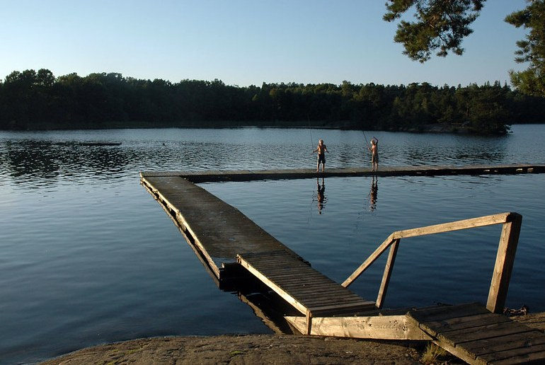 Swim, run, cycle and barbecue surrounded by nature in Stockholm's Hellasgården