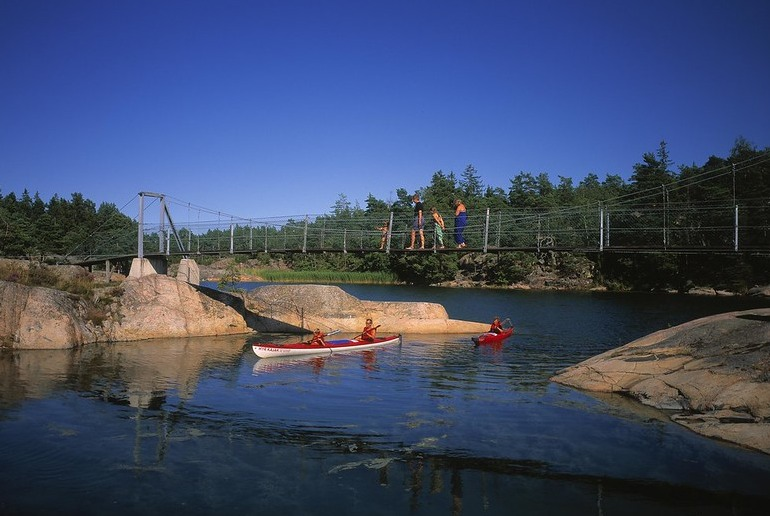 Get back to nature in a kayak and explore Stockholm's beautiful archipelago