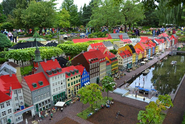 The original Legoland in Billund Denmark is a great theme park to visit in Scandinavia