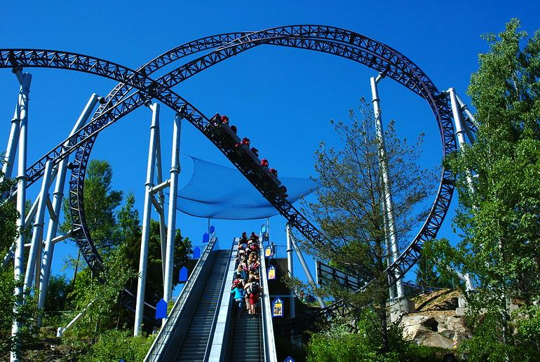 Tusenfryd, near Oslo, is Norway's largest theme park.