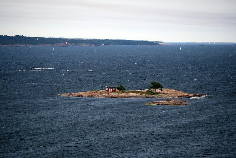 Finland has thousands of islands. The Summer Book by Tove Jansen, author of the Moomins, is set on one in the Gulf of Finland