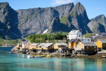 Sakrisøy Rorbuer, the stunning location for psychological thriller Twin in Norway's Lofoten islands