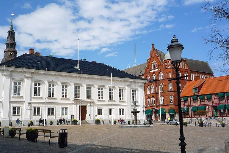 Ystad, a pretty town in southern Sweden, home of detective Kurt Wallander