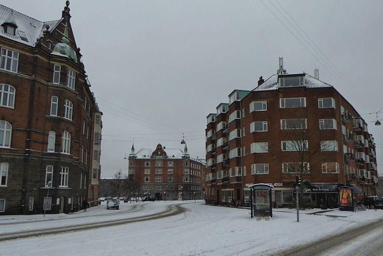 Copenhagen in winter is the setting for Miss Smilla's Feeling for Snow