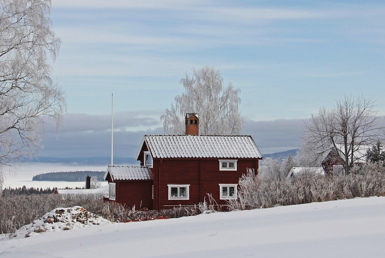 Snowy Scandinavian landscape make a great backdrop for Nordic Noir thrillers
