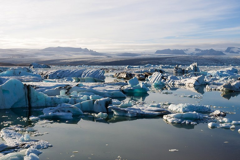 A day tour to the Jökulsárlón glacier lake is a highlight of a trip to Reykjavik