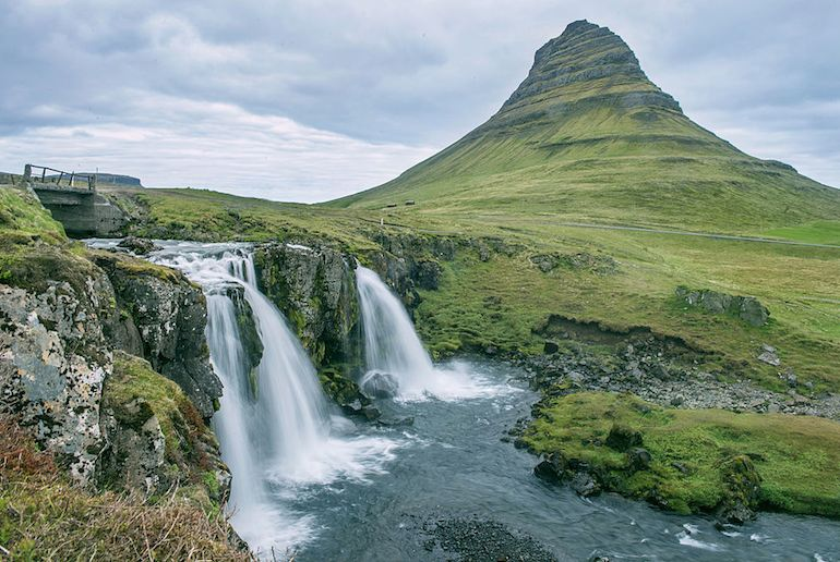 Kirkjufell, Game of Thrones' Arrowhead Mountain, can be seen on a day tour from Reykjavik
