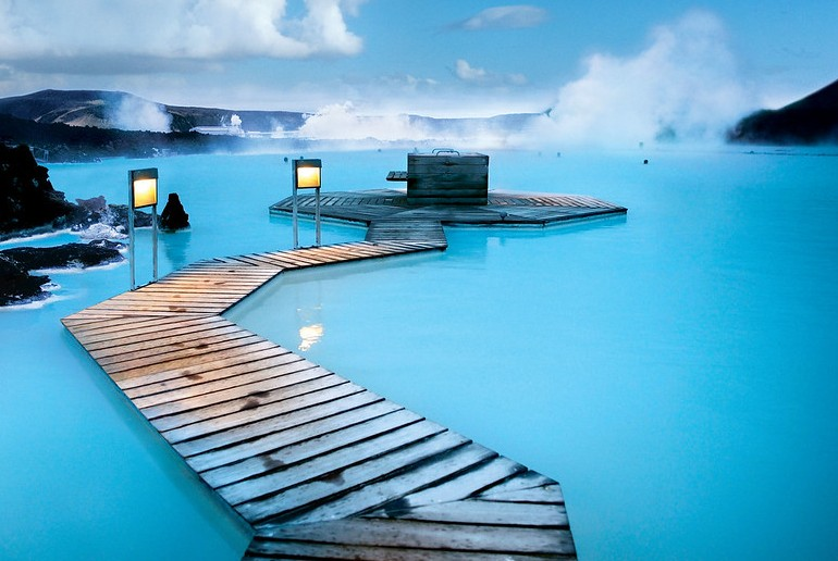 Much of Iceland is open to visitors, including the famous Blue Lagoon