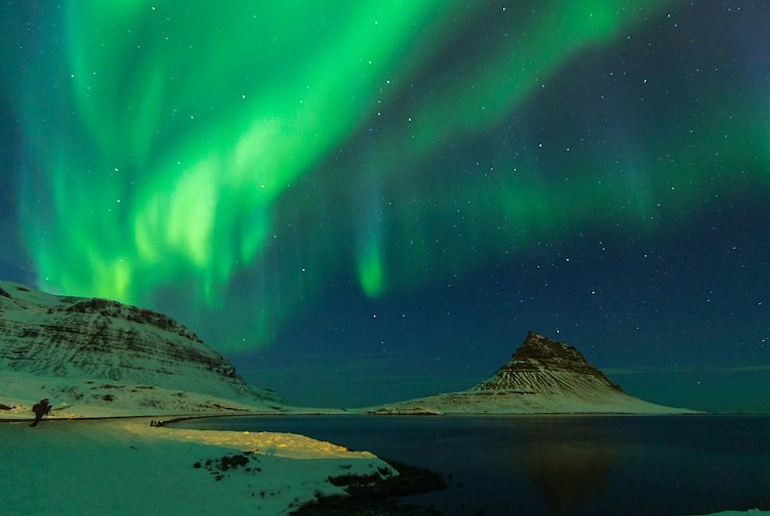 A tour from Reykjavik is the best way to see the northern lights