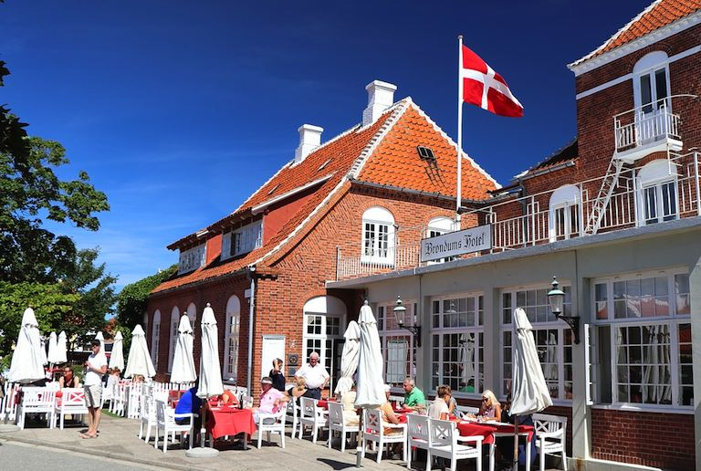 Skagen is popular place for Danes to holiday in summer