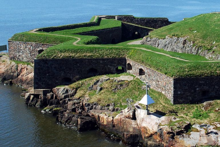 Many of Finland's attractions including Suomenlinna Fortress are open to the public