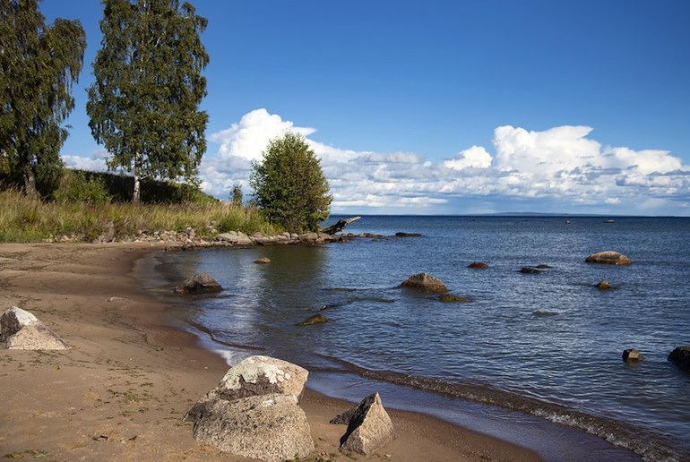 Lake Vättern is one of Sweden's most beautiful lakes