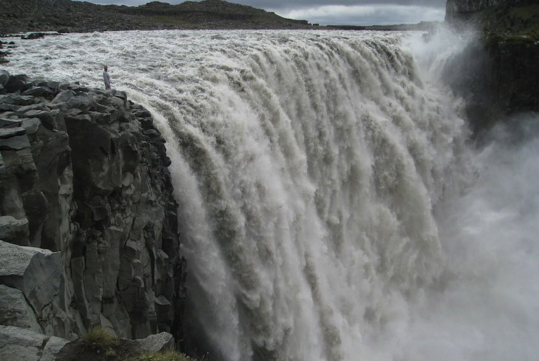 Dettifoss is one of northern Iceland's most impressive waterfalls