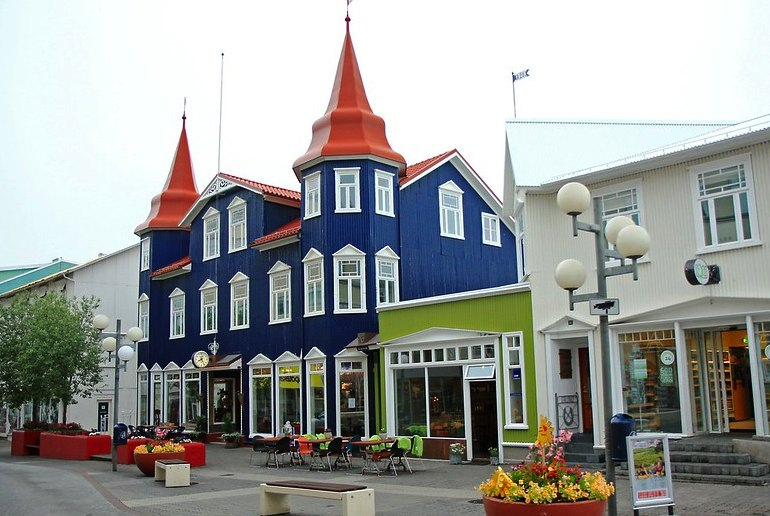 Akureyi is northern Iceland's main town